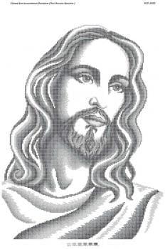 Лик Ісуса Христа (срібна част. виш) БСР-2025 Сяйво БСР