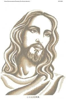 Лик Ісуса Христа (золота част. виш.)