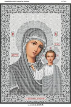 БМ Казанська(срібло) БСР-2074 Сяйво БСР