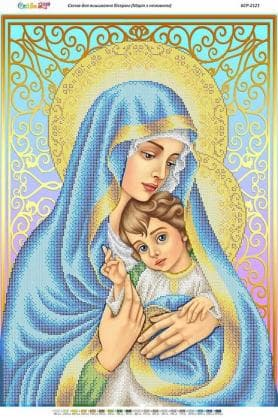 Мадонна з немовлям БСР-2121 Сяйво БСР
