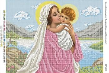 Мадонна з немовлям БСР-3041 Сяйво БСР