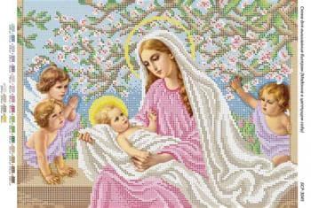 Мадонна в квітучому садку БСР-3045 Сяйво БСР