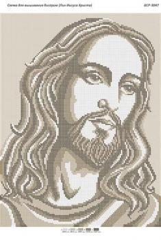 Лик Ісуса Христа БСР-3047 Сяйво БСР