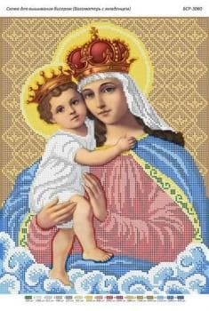 Божа матір з немовлям