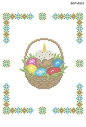 Серветка  Великодня БСР-4311 Сяйво БСР