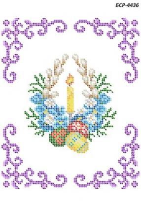 Дитяча великодня серветка БСР-4436 Сяйво БСР