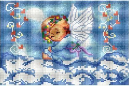 Ангелик DT710 Алмазна мозаїка IF