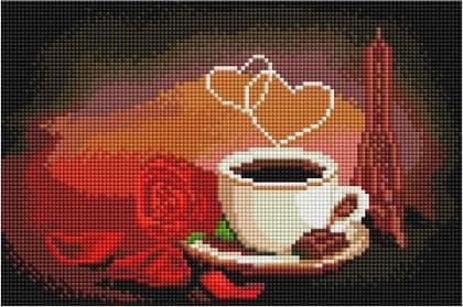 Аромат кави DT709 Алмазна мозаїка IF