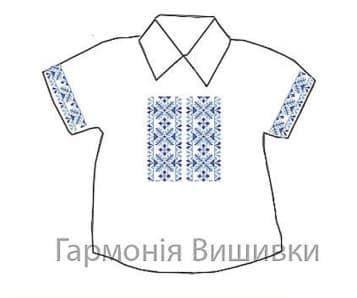 Сорочечка на 1-3 роки СД-1-3 Сині кольори Гармонія