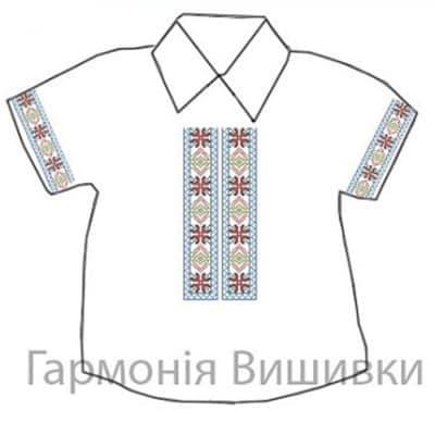 Сорочечка на 1-3 роки СД-1-3 Барвисте літо Гармонія