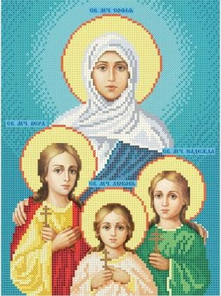Віра, Надія, Любов та їхня мати Софія ЧВ-3210 Бісерок
