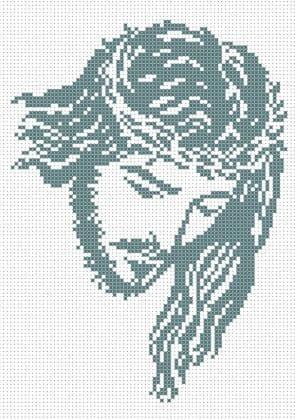 Ісус в терновому вінку ЧВ-3311 Бісерок