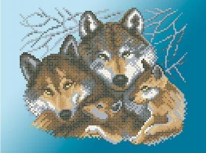 Сімейство вовків ЧВ-3429 Г Бісерок