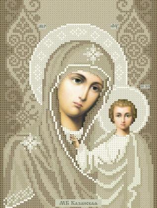 Мати Божа  Казанська ЧВ-3445 К Бісерок