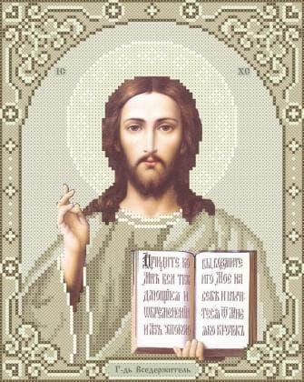 Ісус Вседержитель ЧВ-3446-1К Бісерок