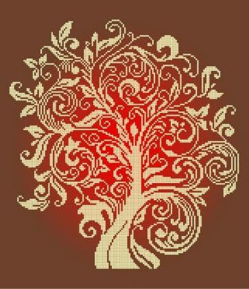 Дерево достатку ЧВ-6001 Бісерок