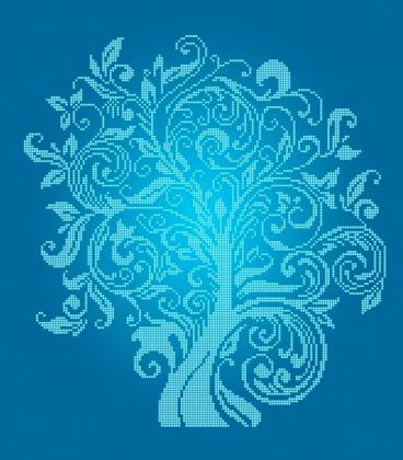 Дерево достатку ЧВ-6001 С Бісерок
