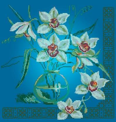 Орхідеї ЧВ-6007 С Бісерок