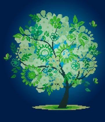 Пори року. Весняне деревце ЧВ-6013 Бісерок