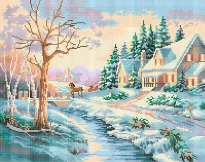 Зимова казка ЧВ-6021 Бісерок