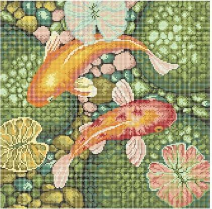 Золоті рибки ЧВ-6043 Бісерок