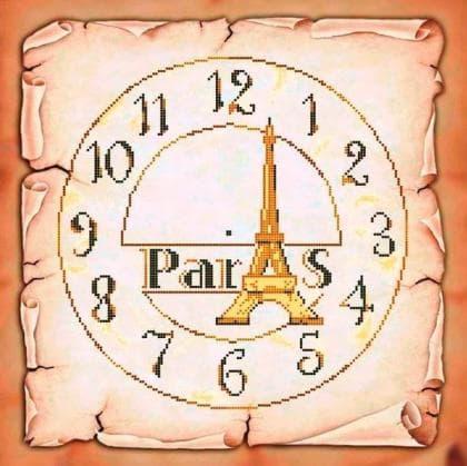 Годинник Париж ЧВ-6044 Бісерок