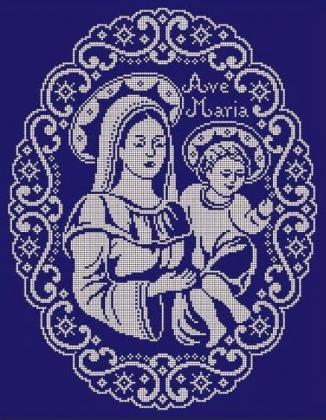 Аве Марія ЧВ-6061 Бісерок