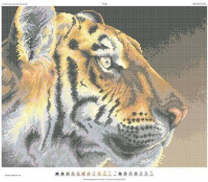 Погляд тигра ЧВ-6073 Бісерок
