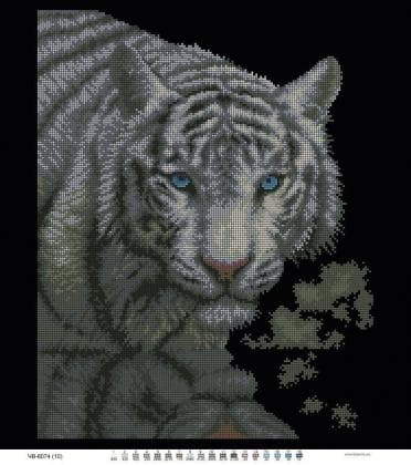 Білий тигр ЧВ-6074 Бісерок