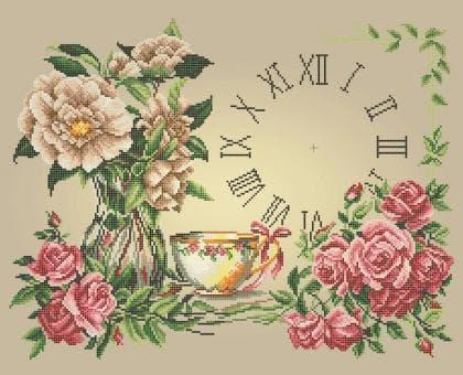 Годинник Чаювання ЧВ-7060 Бісерок
