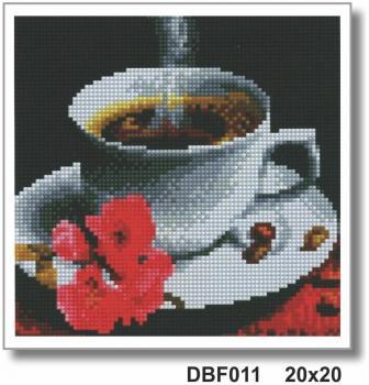 Кава DBF 011 Алмазна мозаїка IF