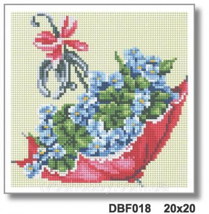 Квіткова парасолька DBF 018 Твоє хоббі