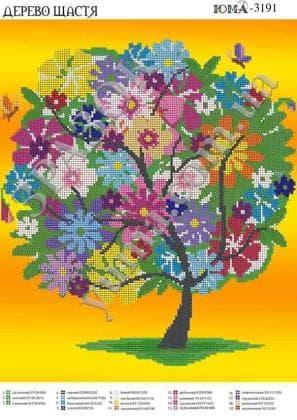 Дерево щастя ЮМА-3191 ЮМА