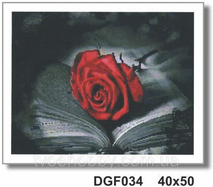 Червона троянда DGF 034 Твоє хоббі
