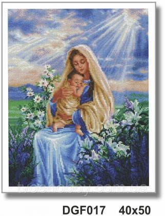 Богородиця з немовлям DGF 017 Твоє хоббі