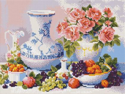 Натюрморт ST412 Алмазна мозаїка IF