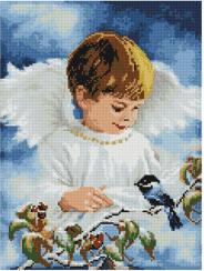 Ангелик хлопчик ST429 Алмазна мозаїка IF