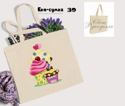 Еко-сумка ЕС-39 Світ рукоділля