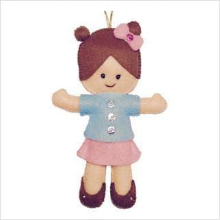 Набір з фетром Лялька