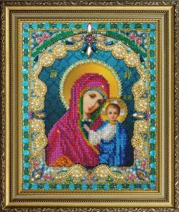Казанська Ікона Божої Матері Р-409 Картини бісером