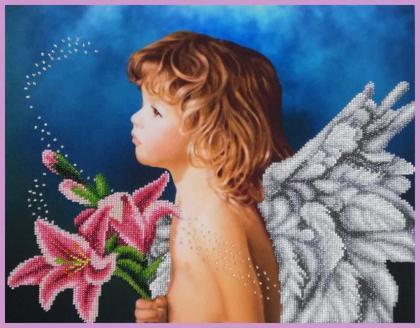 Ангелятко Р-407 Картини бісером