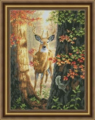 Лісний олень