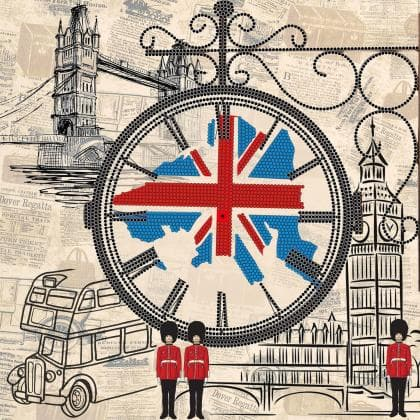 Годинник Спогади  про Англію