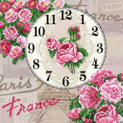 Годинник Паризькі троянди