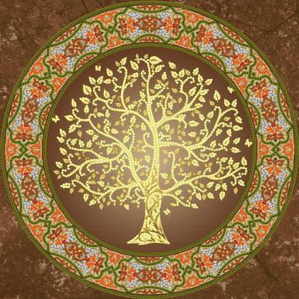 Мандала Золоте дерево