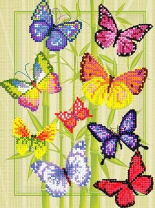 Кольорові метелики