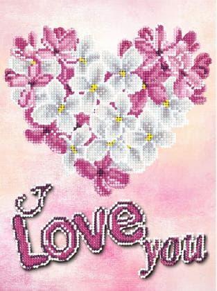 Квіти в сердечку
