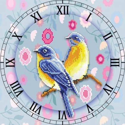 Годинник з пташками