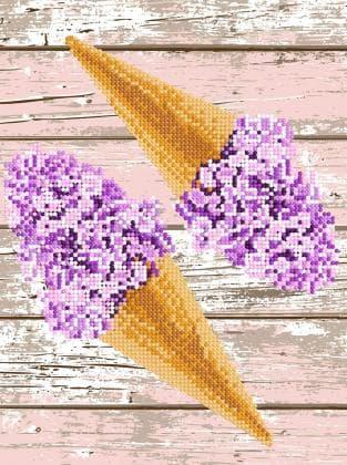 Квіткове морозиво