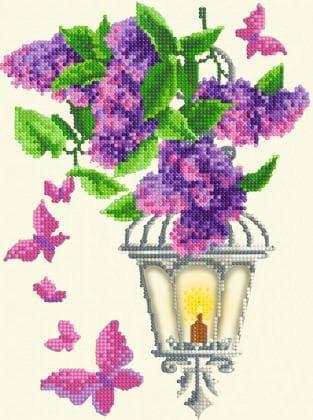 Ліхтарик з квітами
